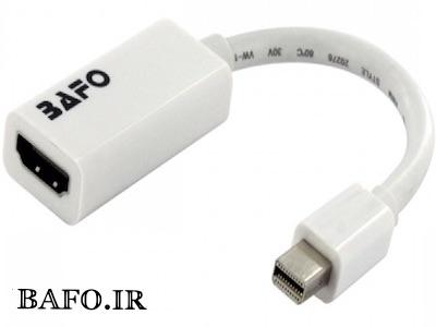 تبدیل مینی دیسپلی 1.2 به HDMI 4k بافو