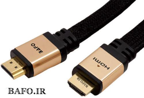 کابل HDMI Gold ورژن ۲ فلت بافو 2M