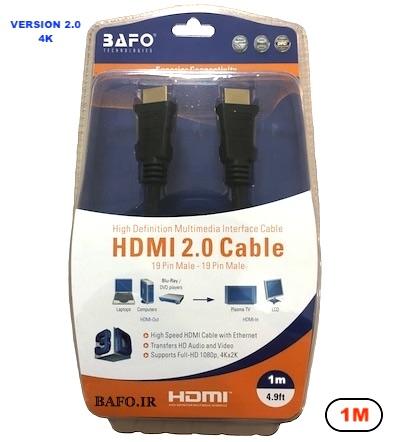 کابل HDMI ورژن ۲ بافو ۱ متر