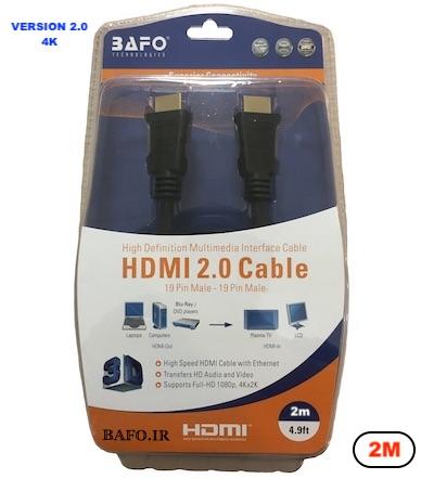 کابل HDMI ورژن ۲ بافو ۲ متر
