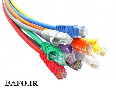 کابل شبکه cat5 bafo