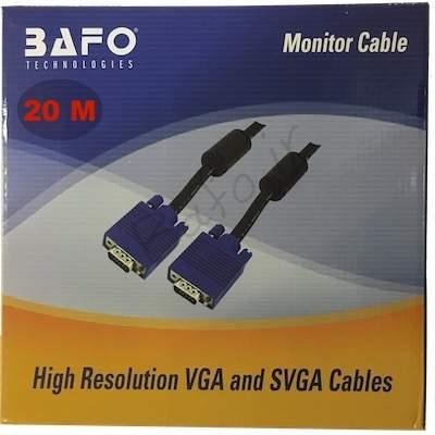 کابل 20 متری VGA بافو